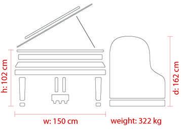 Dimensions FEURICH – 162 Dynamic I