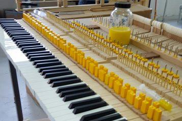 FEURICH Wien, keyboard felts with FEUFIX
