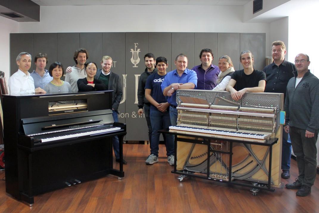 FEURICH Vienna, Production Team