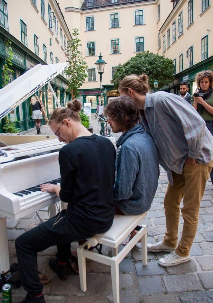 Open Piano 2017 Grabenberger, Grünbichler, Felizeter