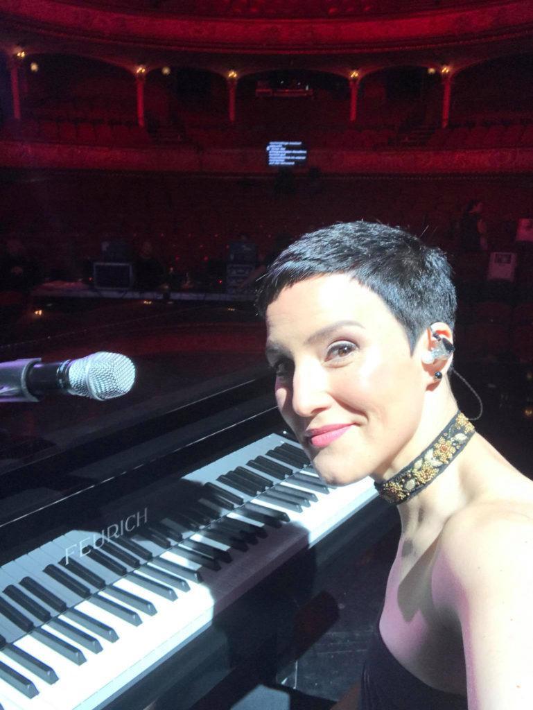 Ina Regen Amadeus Awards 2018 rehearsal