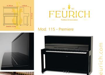 Infoblatt FEURICH Mod 115 - Premiere-1