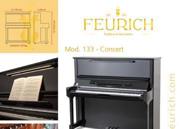 Infoblatt FEURICH Mod 133 - Concert-1