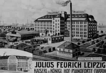 JULIUS FEURICH PIANOFORTE FABRIK