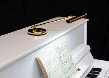 LED upright piano lamps