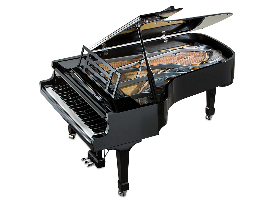 Mod. 218 - Concert I, black polished - chrome 1