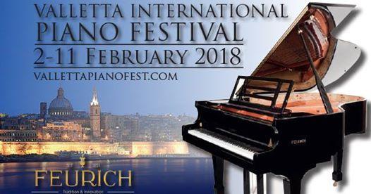 Malta Piano Teachers Association: Valletta Piano Festival 2018