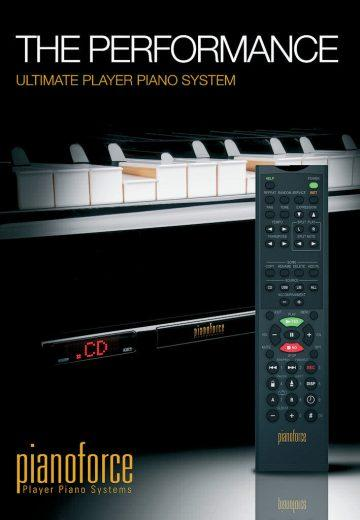 pianoforce player system
